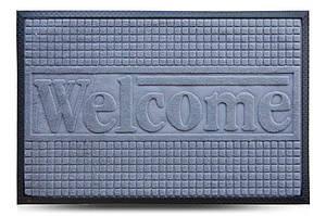 Придверні килимок MX, сірий, 60х90 см