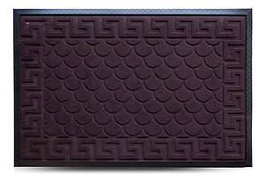 Придверні килимок MX, коричневий, 60х90 см