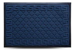 Придверні килимок MX, синій, 60х90 см