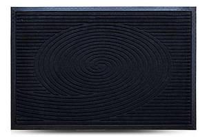 Придверні килимок MX, чорний, 60х90 см