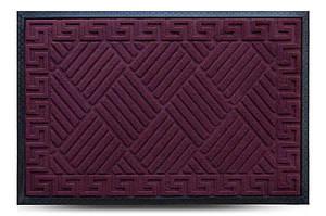 Придверні килимок MX, бордо, 60х90 см
