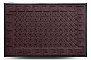 Придверні килимок MX, коричневий, 80х120 см