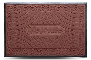 Придверні килимок MX, світло-коричневий, 80х120 см