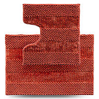 Набір килимків для ванної кімнати Махрамат Матрац, теракот