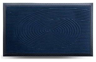 Придверні килимок MX, синій, 45х75 см