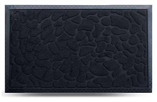 Придверні килимок MX, чорний, 45х75 см