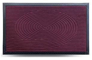 Придверні килимок MX, бордо, 45х75 см