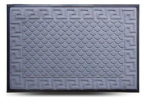 Придверні килимок MX, сірий, 80х120 см