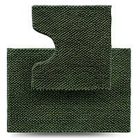 Набір килимків для ванної кімнати Ананас, зелений