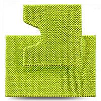 Набір килимків для ванної кімнати Ананас, лайм