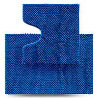 Набір килимків для ванної кімнати Ананас, синій