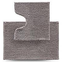 Набір килимків для ванної кімнати Ананас, сірий