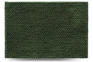 Килимок для ванної кімнати Ананас, зелений, 55x80 см