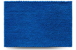 Килимок для ванної кімнати Ананас, синій, 55x80 см