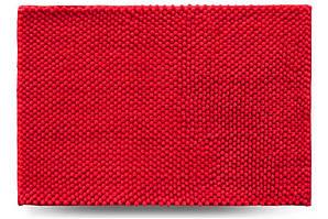 Килимок для ванної кімнати Ананас, червоний, 55x80 см