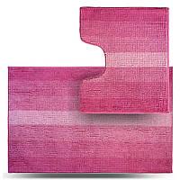 Набір килимків для ванної кімнати Махрамат, рожевий МС