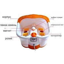 Ванночка - массажер для ног гидромассажная с ИК подогревом Multifunction Footbath Massage.
