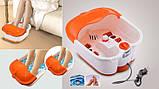 Ванночка - массажер для ног гидромассажная с ИК подогревом Multifunction Footbath Massage., фото 5