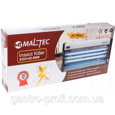 Инсектицидная ловушка, лампа уничтожитель насекомых Maltec EGO-02-60W 3x20 W, фото 2