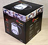 Электрочайник Стеклянный с LED Подсветкой Чёрный Чайник Электрический, фото 6