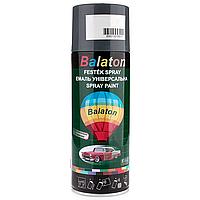 Краска Balaton 9005 черная матовая 400мл