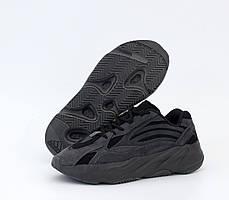 Кроссовки Adidas Yeezy Boost 700 V2 темно-серого цвета (Кроссовки Адидас Изи Буст 700 серые мужские и женские)
