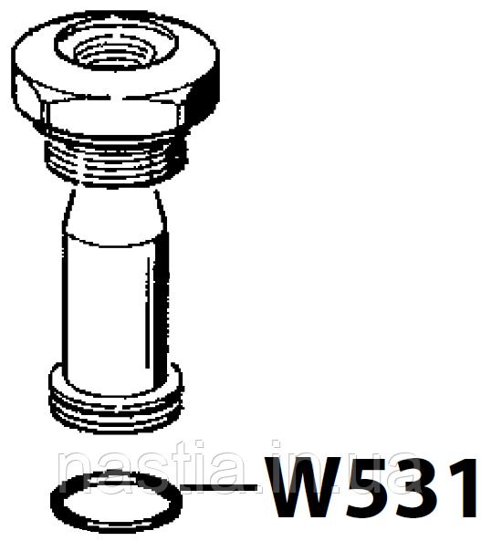 W531 (F066) Гумовий ущільнювач(у пост), OR 125, d=18,64x3,53mm, Viton, Wega