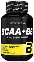 Аминокислоты BioTech - BCAA+B6 (100 таблеток)