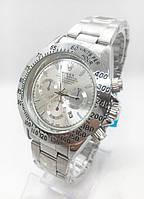 Мужские наручные часы Rolex (Ролекс), цвет серебристые ( код: IBW186S )