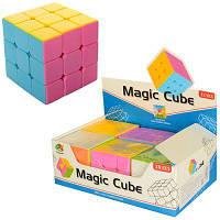 Кубик Рубика 581-5.7G 5,5-5,5-5,5см, в кульке, 6шт в дисплее 18-12-6см