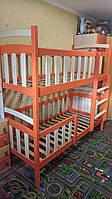 """Ліжко дитяче двоярусне """"Каріна Люкс"""" з ящиками"""
