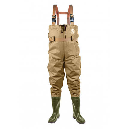 Комбінезон забродный, чоботи для рибалки Lemigo 996 Lexpo, розмір 8 ( 42), вкладка - 27см, фото 2