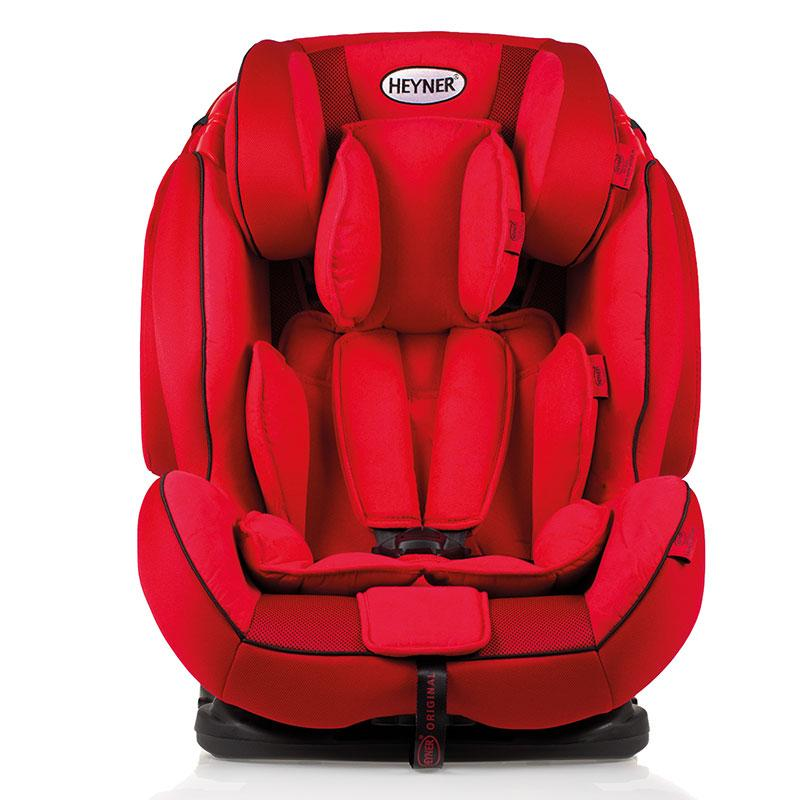 Автокрісло 9–36 кг Heyner Capsula Multi Ergo 3D Racing Red 786 030
