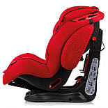 Автокрісло 9–36 кг Heyner Capsula Multi Ergo 3D Racing Red 786 030, фото 2