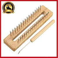 Набор для вязания шарфов. Крючок, Станок, Инструменты для рукоделия. Спицы, крючки и аксессуары для вязания