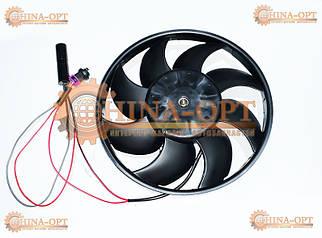 Мотор + крильчатка дифузора вентиляторів