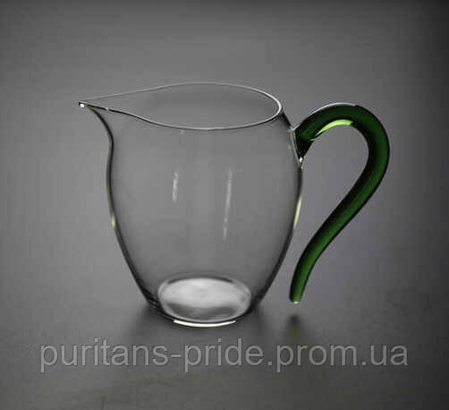 Чахай стеклянная «Зеленая» 300 мл   Посуда для чайной церемонии