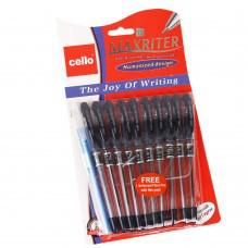 Ручка шариковая на масленной основе 0,5 mm CELLO Maxriter красная