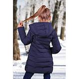 Детское пальто для девочек FREEVER синие, фото 2