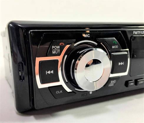 Автомагнитола с Bluetooth и Мр3 USB MicroSD Автомобильная Магнитола с Блютуз Мощность 4х65Вт max, фото 2