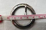 Пряжка декоративная металлическая 4,5см, фото 3
