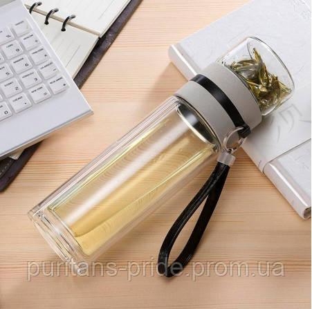 Заварник для чая «Бутылка-инфузор» 400 мл | Бутылка для чая