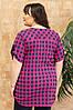 Женская рубашка в клетку, фото 3