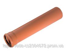 Труба ПВХ 110х0.5 для наружной канализации (SN4)
