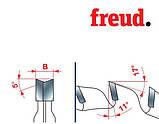 Freud LI16M ВВ3 100*2,8*3,6*22 12+12 z двокорпусні підрізні пилки з ДСП (Італія), фото 7