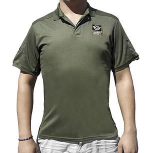 Тактическая футболка с коротким рукавом ESDY A817 Green размер XL мужская, фото 2
