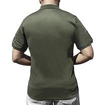 Тактическая футболка с коротким рукавом ESDY A817 Green размер S мужская, фото 3