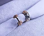 Об'єднані сережки фірми Xuping(Сережки color 81), фото 3