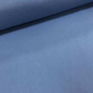 Хлопковая ткань однотонная джинс