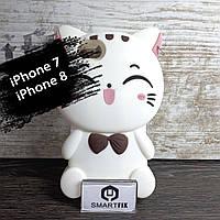 Силиконовый 3D чехол для iPhone 7 / iPhone 8, фото 1